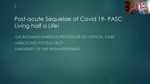 Thumbnail for entry AIMMS seminar 23 juni | NAD+ metabolism in the pathophysiology and treatment of long covid