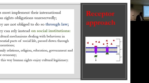 Thumbnail for entry Lecture 5.3: Chinese Involvements in the International Human Rights System
