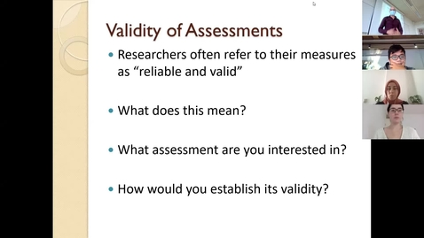 Thumbnail for entry Advanced Research Methods 2021 Lecture 3