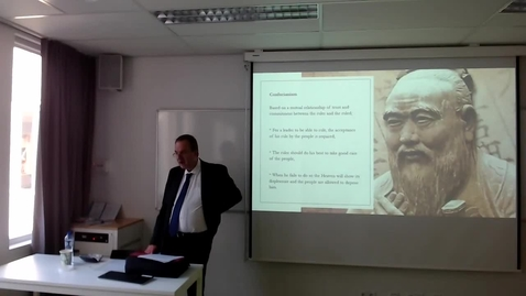 Thumbnail for entry Lecture 1.2: Chinese Philosophies on Governance and Human Rights