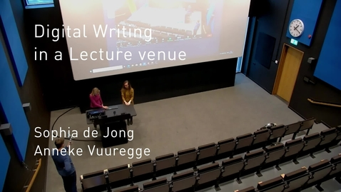 Thumbnail for entry Junior Lecturer Projects - Anneke & Sophia's Pitch