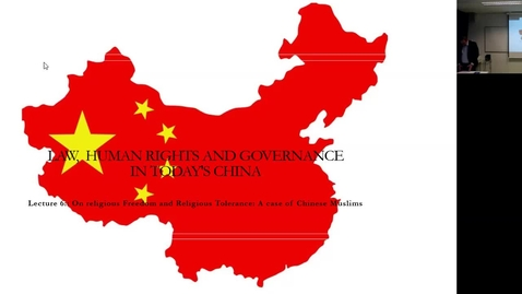 Thumbnail for entry L6.1 Law, Gov. and HR in China _2021 Course