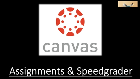 Thumbnail for entry Canvas Cafe Assignments & Speedgrader