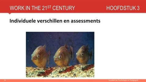 Hoofdstuk 3: Individuele verschillen en assessment