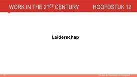 Thumbnail for entry Hoofdstuk 12: Leiderschap