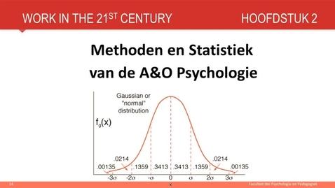 Thumbnail for entry Hoofdstuk 2: Methode en statistiek