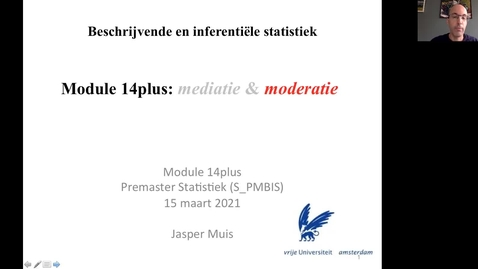 Thumbnail for entry 14.3.1 (plus). Stappenplan moderatie-analyse (interactie-effect), inleiding.