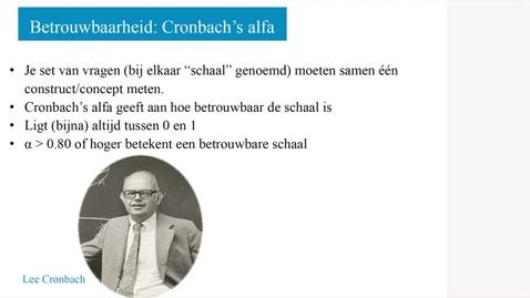 Thumbnail for entry 3.2.1 Cronbach's alpha