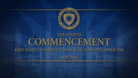 Thumbnail for entry College of Podiatric Medicine Commencement, May 20, 2016
