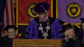 Thumbnail for entry 1pm Undergrad Commencement Keynote - Spring 2013