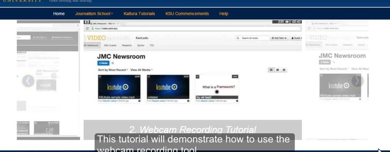 Webcam Recording Tutorial