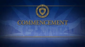 Thumbnail for entry Spring 2013 Undergraduate Commencement Ceremony - 9am May 11, 2013