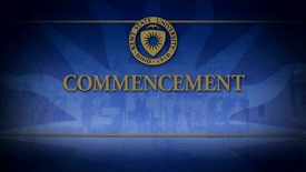 Thumbnail for entry December 2012 Advanced Degree Commencement, December 15, 2012 - 1:30pm