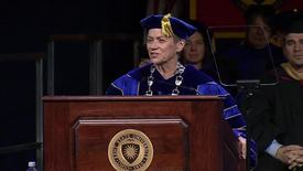 Thumbnail for entry Fall 2016, Advanced Degree Commencement Keynote, December 16, 2016