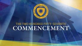 Thumbnail for entry Summer 2017, Advanced Degree Commencement, August 19, 2017