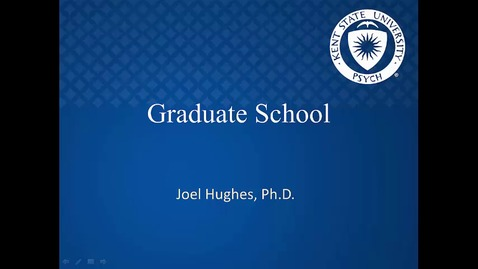 Thumbnail for entry Grad school options