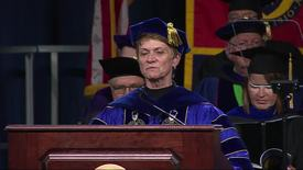 Thumbnail for entry Advanced Degree Commencement, August 19, 2017 Keynote Address