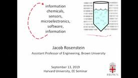 Thumbnail for entry EE Seminar Jacob Rosenstein 2019-09-13