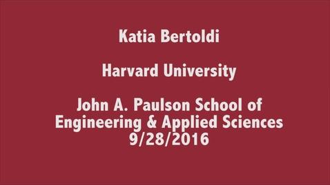 Thumbnail for entry MSME - Katia Bertoldi - 9 28 16