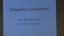 CS Colloquium Yael Tauman Kalai 2014-11-17