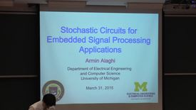 Thumbnail for entry Electrical Engineering Seminar Armin Alaghi 2015-03-31