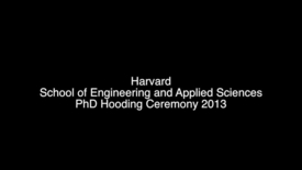 Thumbnail for entry SEASPhDHooding2013