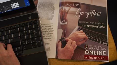 Thumbnail for entry University of Arkansas Online - For the Go-getters