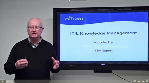 Thumbnail for entry 9 ITIL Knowledge Management