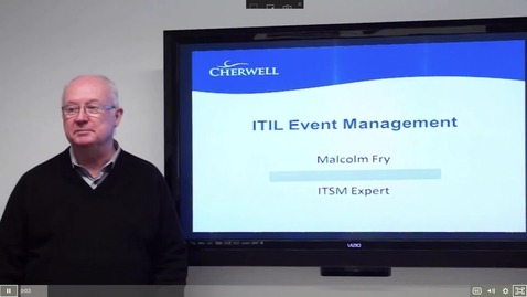 Thumbnail for entry 10 ITIL Event Management