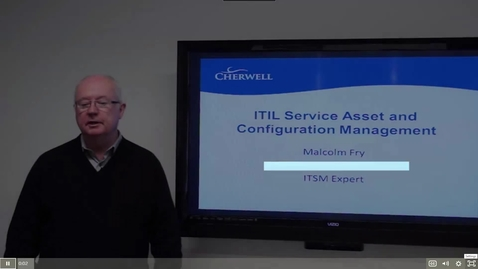 Thumbnail for entry 7 ITIL Assets and Config Management