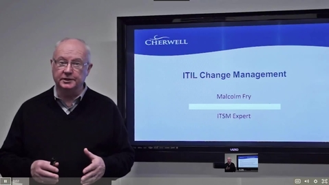 Thumbnail for entry 6 ITIL Change Management
