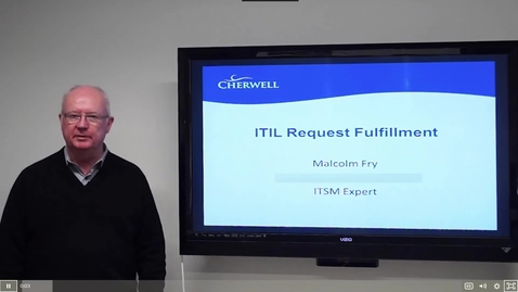 Thumbnail for entry 12 ITIL Service Fulfillment