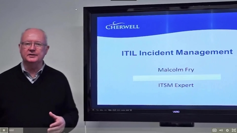 Thumbnail for entry 11 ITIL Incident Management