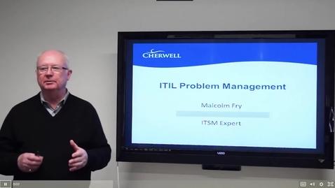 Thumbnail for entry 13 ITIL Problem Management