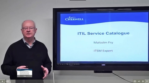 Thumbnail for entry 3 ITIL Service Catalog.mp4