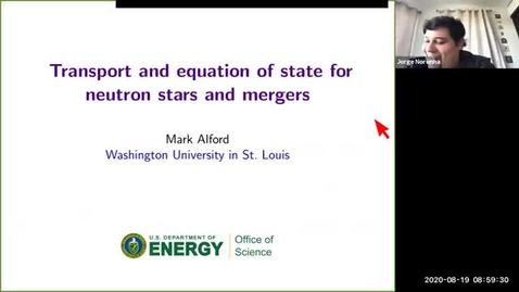 Thumbnail for entry Workshop: Heavy-ions to Neutron Stars: Mark Alford