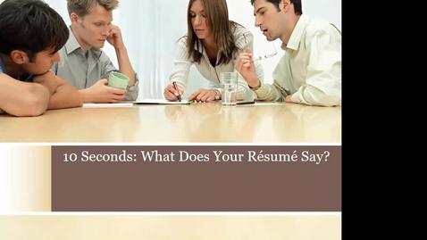Thumbnail for entry SCS Resume/CV Workshop for Grads & Post-Docs