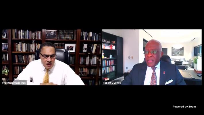 """A Great Conversation"" with Dr. Freeman Hrabowski"
