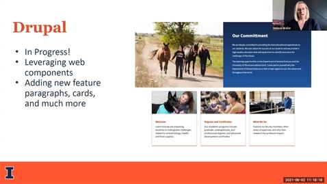 Thumbnail for entry 2B - Delivering Consistent Web Design Templates Across Multiple Platforms - Spring 2021 IT Pro Forum