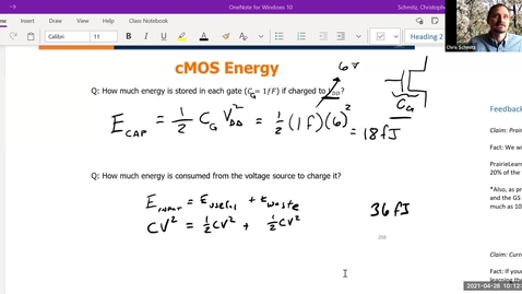 Thumbnail for entry Lecture 26 - cMOS part II