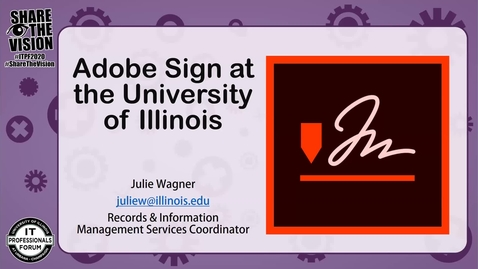 Thumbnail for entry Introducing Adobe Sign - IT Pro Forum Fall 2020