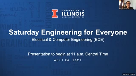 Thumbnail for entry Saturday Engineering for Everyone