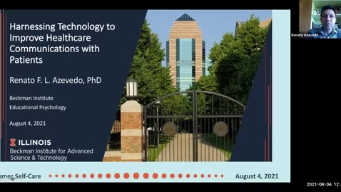 Thumbnail for entry Harnessing Technology to Improve Healthcare Communications with Patients