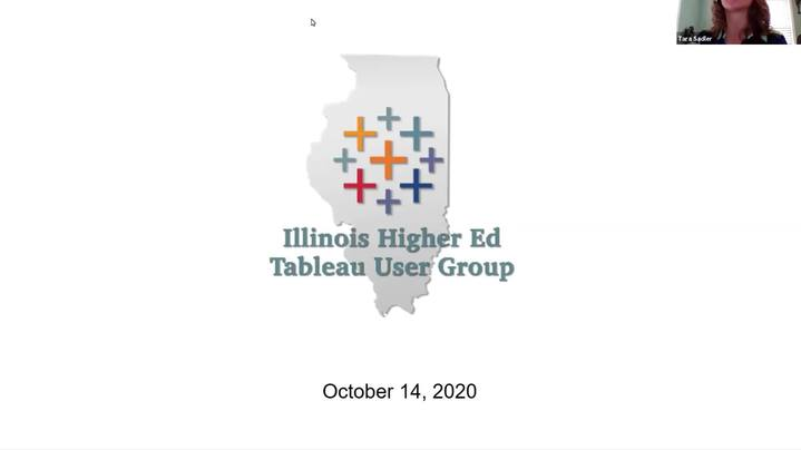 Thumbnail for channel Illinois Higher Education Tableau User Group