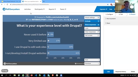 Thumbnail for entry Illinois Drupal Framework: Coming Together to Create Powerful Websites - Fall 2020 IT Pro Forum