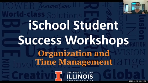 Thumbnail for entry Academic Success Workshop:Organization, Time Management, & Using Resources