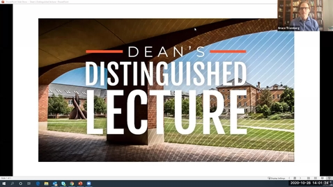 Thumbnail for entry Dean's Distinguished Lecture at UIUC
