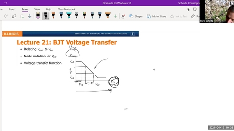 Thumbnail for entry Lecture 21 - BJT Voltage Transfer
