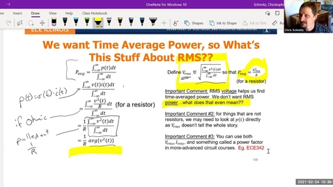 Thumbnail for entry Lecture 9 - Average Power