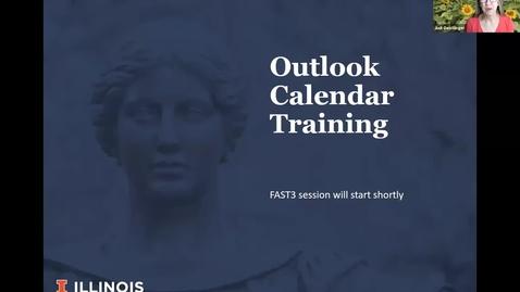 Thumbnail for entry Outlook Calendar via Zoom